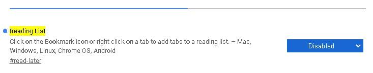 """Как убрать """"Список для чтения"""" из Гугл Хром?"""